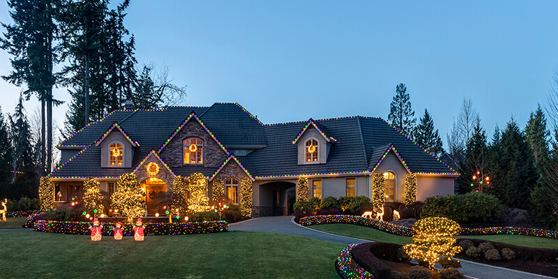 Brothers Holiday Lighting Holiday Lighting Services